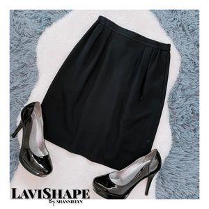 Dresses & Skirts - Navy Blue Work Skirt (ITEM #0244)